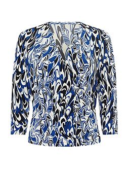Jeff Banks Scribble Print Top