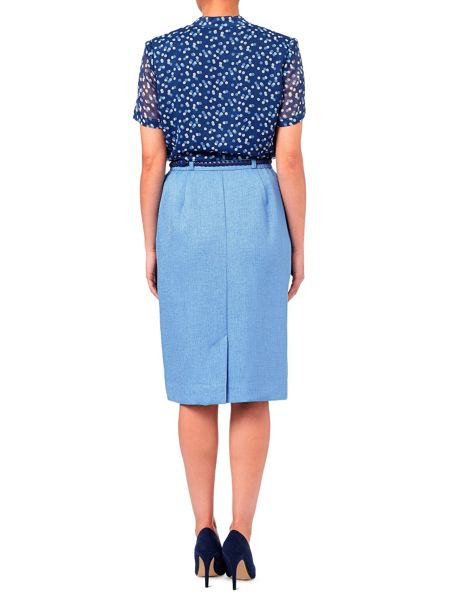 Eastex Basket Weave Casual Skirt