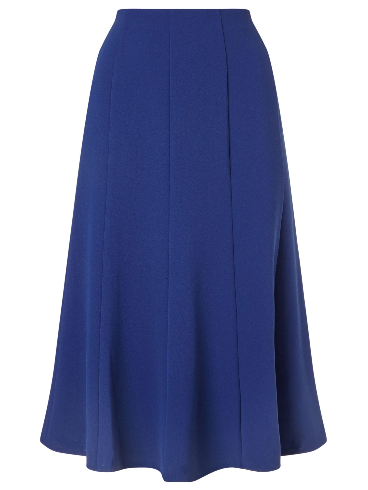 Eastex Crepe Fit And Flare Skirt, Navy