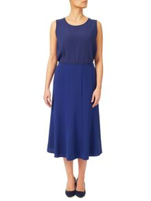 Eastex Crepe Fit And Flare Skirt