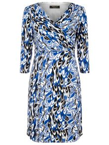 Precis Petite Jeff Banksscribble Print Dress