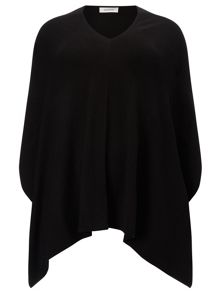 Windsmoor Black Poncho