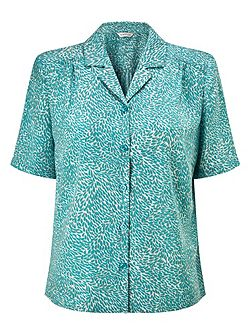 Topairy Leaf Blouse