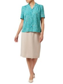 Eastex Topairy Leaf Blouse