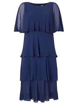 Lorcan Layers Chiffon Dress