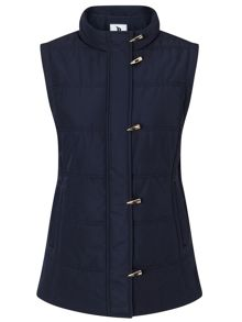 Dash Navy Toggle Gilet