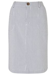 Dash Ticking Stripe Skirt