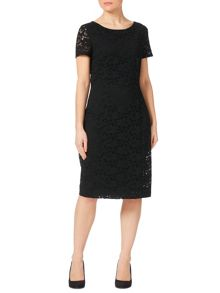 Precis Petite Jasmin Lace Cap Sleeve Dress