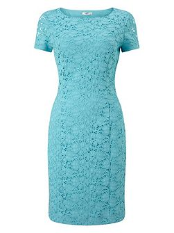 Jasmin Lace Cap Sleeve Dress