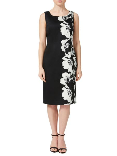 Precis Petite Mono Floral Shift Dress