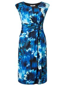 Precis Petite Blurred  Floral Dress