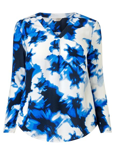 Windsmoor Printed Open Neck Tunic