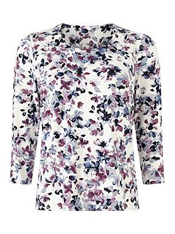Mini Watercolour Floral Top