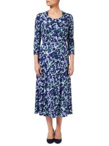 Eastex Brushed Pansy Jersey Skirt