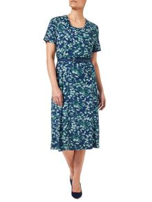 Eastex Mini Inkstone Wrap Dress