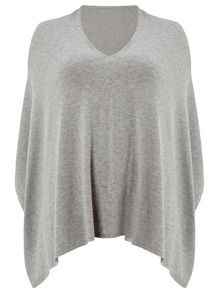 Windsmoor Grey Poncho
