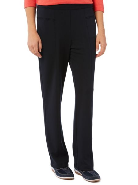 Dash Black Interlock Jogger Long