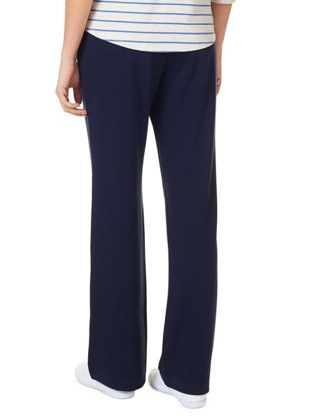 Dash Navy Interlock Jogger Petite