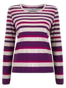 Purple Multi Stripe Jersey