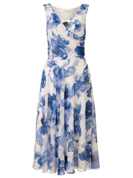 Jacques Vert Floral Print Shift Dress