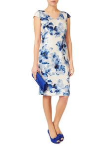 Jacques Vert Summer Haze Print Soft Dress