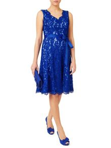 Jacques Vert Corded Lace Prom Dress