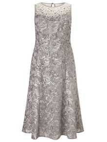 Windsmoor Embellished Cornelli Dress