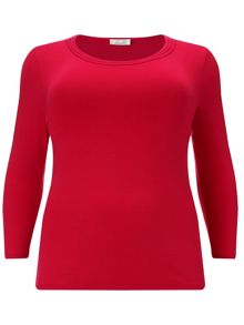 Windsmoor Red Stitch Detail Top