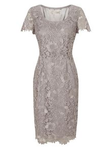 Jacques Vert Lace Layer Dress