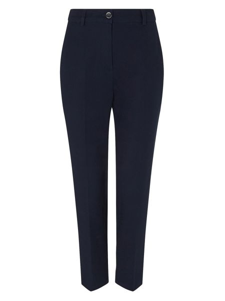 Dash Cotton Stretch Trouser Navy