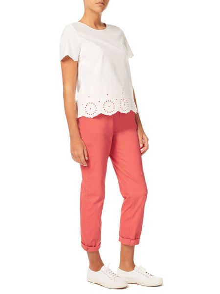 Dash Coral Chino Roll Up