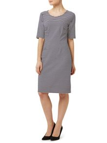 Precis Petite Stripe Body Con Dress
