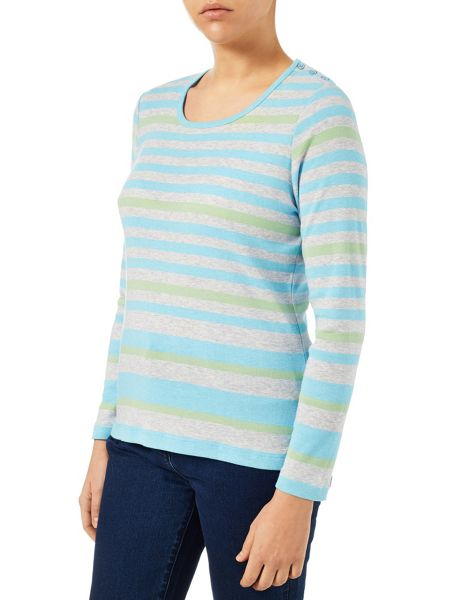 Dash Green Multi Stripe Scoop