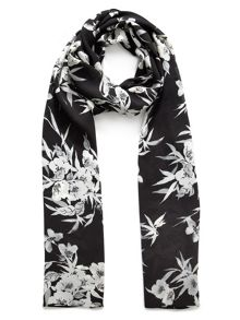 Jacques Vert Eastern Floral Print Scarf