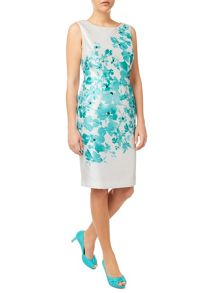 Jacques Vert Delphi Placement Print Dress