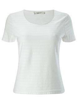 Ivory Textured Top