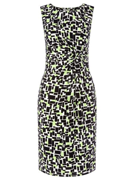 Precis Petite Geo Printed Jersey Dress