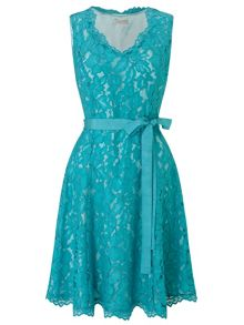 Jacques Vert Petite Lace Prom Dress