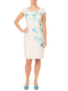 Jacques Vert Petite Embroidered Shift Dress