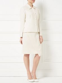 Precis Petite Jeff Banks Ivory Seam Jacket