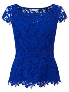 Jacques Vert Sweetheart Lace Top