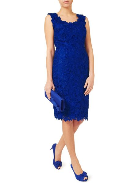 Jacques Vert V Neck Lace Dress