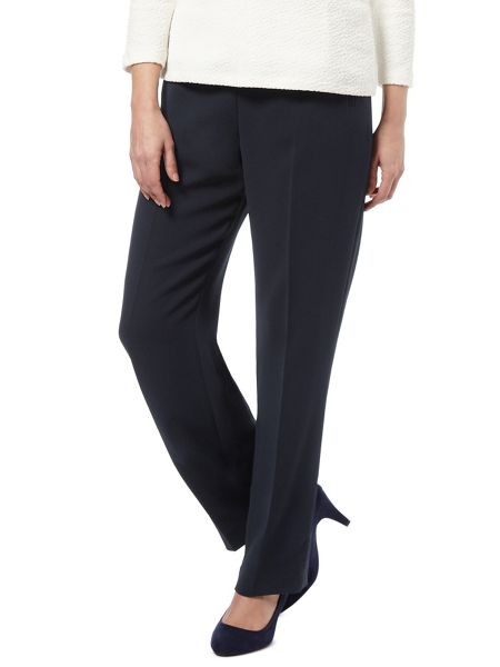 Eastex Navy Straight Leg Trouser