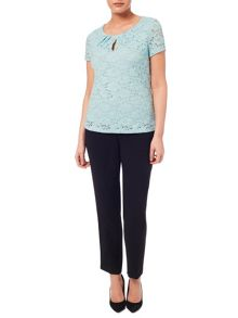 Windsmoor Aqua Lace Top