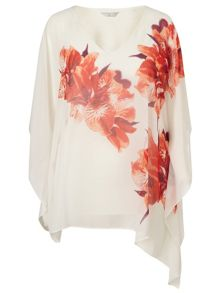 Windsmoor Tropical Iris Print Kaftan