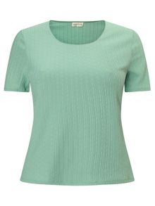 Eastex Mint Pique Top