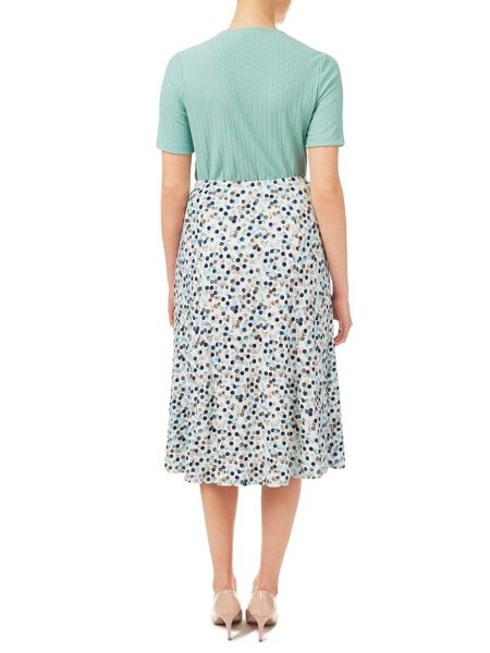 Eastex Painted Spot Jersey Skirt