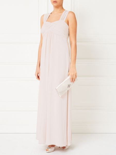 Jacques Vert Rouched Bodice Maxi Gown