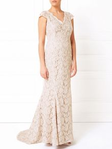 Jacques Vert Embellished Lace Bridal Gown