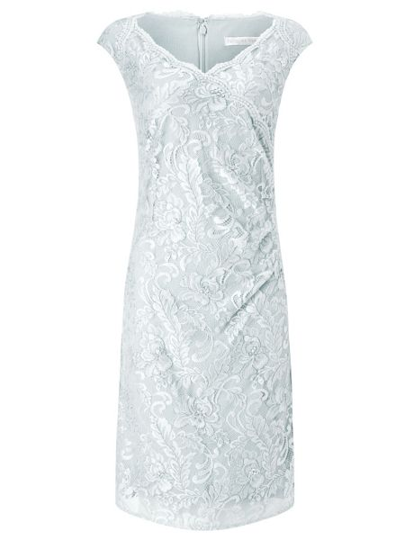 Jacques Vert Embellished Lace Dress